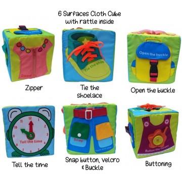 Fabric Activity Cube