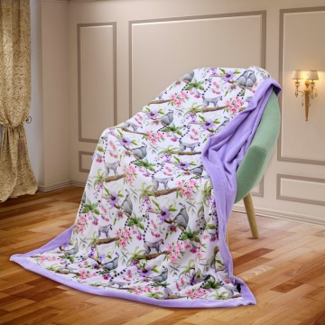 Madagascar Luxury Minky Blanket