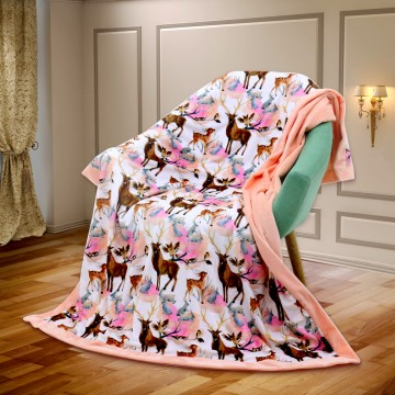 Woodlands Freedom Luxury Minky Blanket