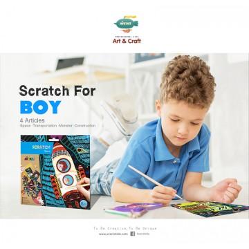 Scratch Art For Boys