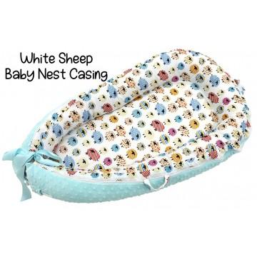 White Sheep Baby Nest Casing