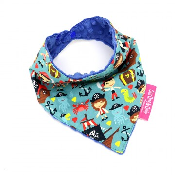 Let's Be Pirates Bandana Bib