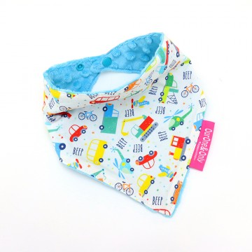 Transportation Bandana Bib