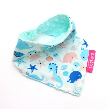 Underwater World Bandana Bib