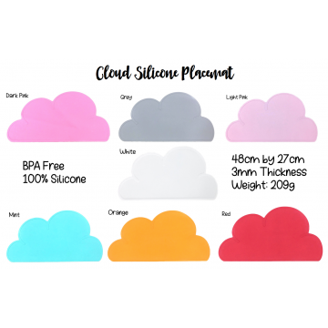 Cloud Silicone Placemat