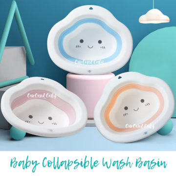 Cloud Collapsible Wash Basin