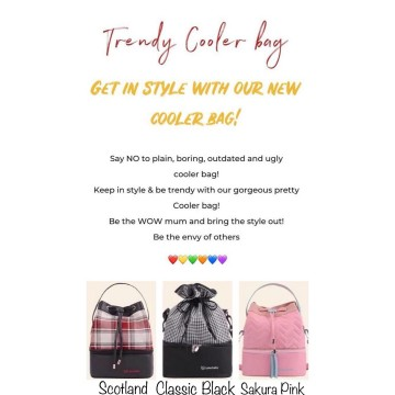 Trendy Cooler Bag