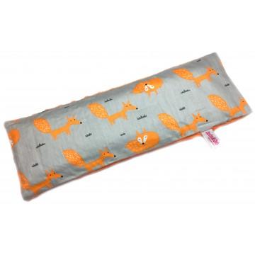 Foxy Fox Cotton Minky Long Husk Pillow