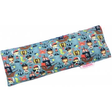 Let's Be Pirates Cotton Minky Long Husk Pillow