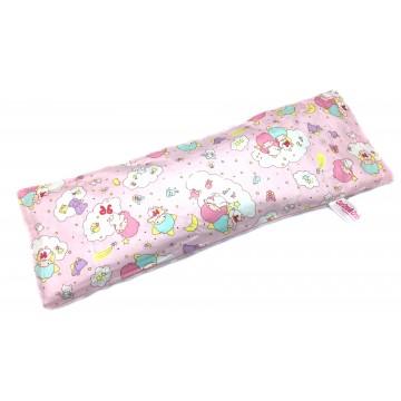 Little Twin Stars (Pink) Cotton Minky Long Husk Pillow