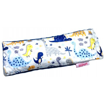 Dinosaur Cotton Minky Long Husk Pillow