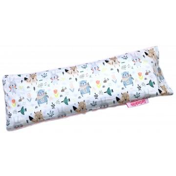 Scandinavian Animals Cotton Minky Long Husk Pillow