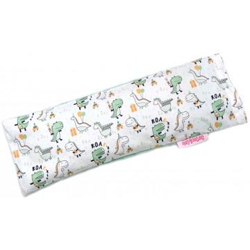 Party Dino Cotton Minky Long Husk Pillow