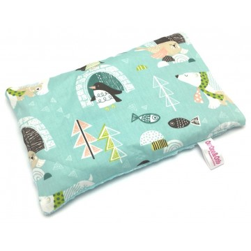 Antarctica Cotton Minky Short Husk Pillow