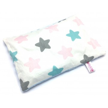 Big Stars Cotton Minky Short Husk Pillow
