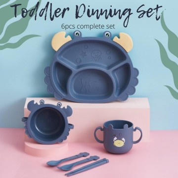 Crab Dining Set (6pcs)