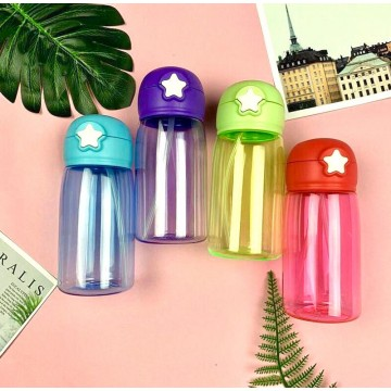Star Tritan Straw Drinking Bottle