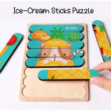 Ice Cream Sticks Puzzle