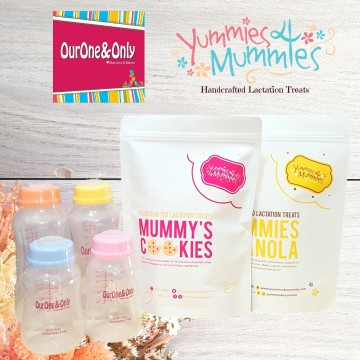 Yummies4Mummies x Standard Neck Storage Bottles Bundle