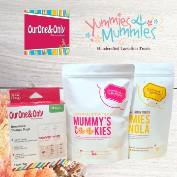 Yummies4Mummies x Breastmilk Storage Bags Bundle