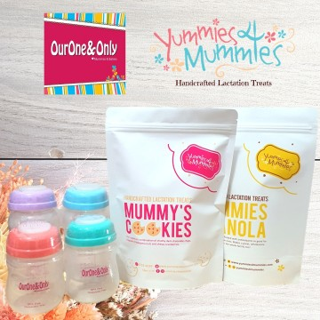 Yummies4Mummies x Wide Neck Storage Bottles Bundle