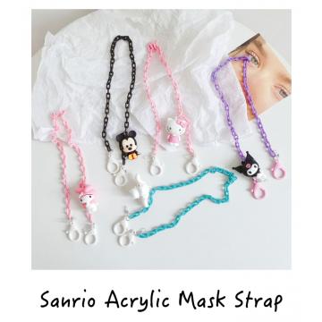 Sanrio Acrylic Mask Strap