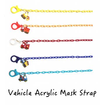 Vehicle Acrylic Mask Strap