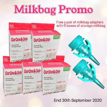 OurOne&Only Breastmilk Storage Bags Promo