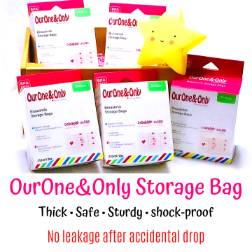 OurOne&Only Breastmilk Storage Bags