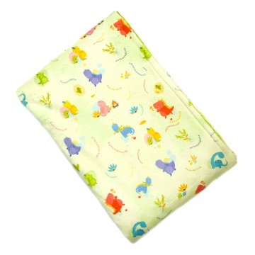 Dino World Full Minky Baby Blanket