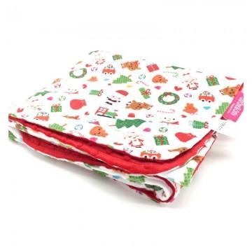 Xmas Full Minky Baby Blanket