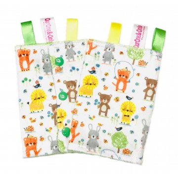 Nature Babies Minky Drool Pad
