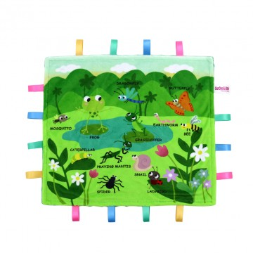 Insects World Minky Book Taggies