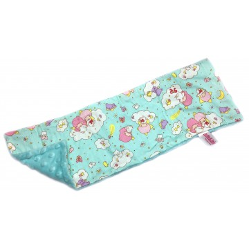 Little Twin Stars Cotton Minky Long Pillow Case