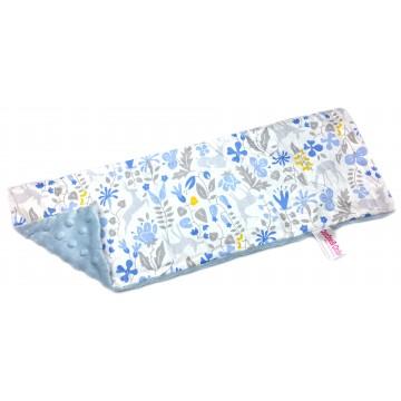 Blue Secret Forest Cotton Minky Long Pillow Case