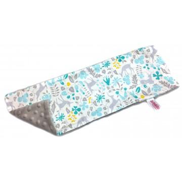 Mint Secret Forest Cotton Minky Long Pillow Case