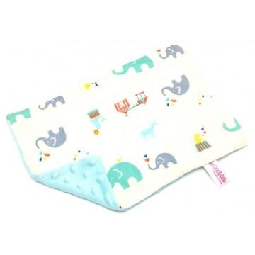 Circus Time Cotton Minky Short Pillow Case