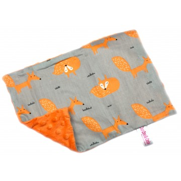 Foxy Fox Cotton Minky Short Pillow Case