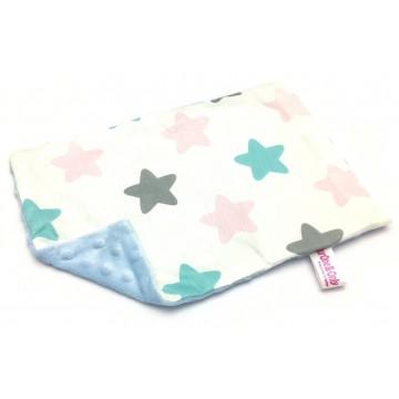 Big Stars Cotton Minky Short Pillow Case