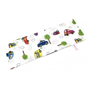 Cars Full Cotton Long Pillow Case