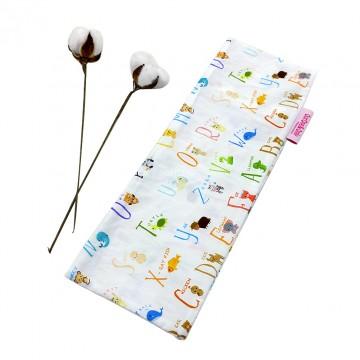 Alphabet Animals Full Cotton Long Pillow Case