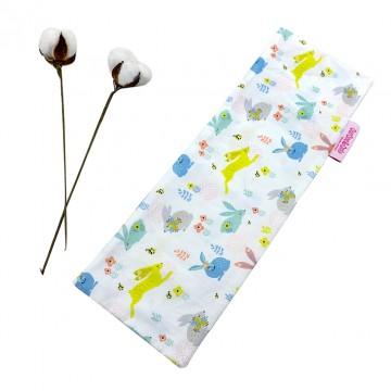 Hopping Bunnies Full Cotton Long Pillow Case