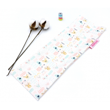 It's A Gurl Full Cotton Long Pillow Case