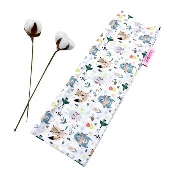 Scandinavian Animals Full Cotton Long Pillow Case