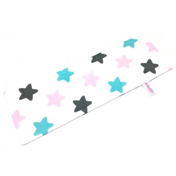 Big Stars Full Cotton Long Pillow Case