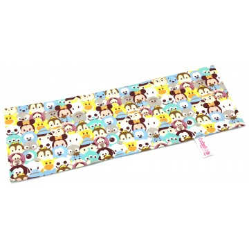 Blue Tsum Tsum Full Cotton Long Pillow Case