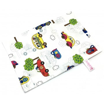 Cars Full Cotton Short Pillow Case