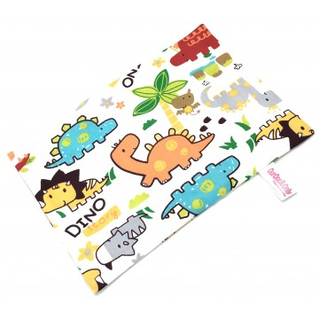 Cutie Dino Full Cotton Short Pillow Case