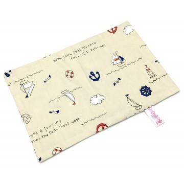 Sailing Full Cotton Short Pillow Case