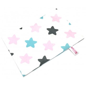 Big Stars Full Cotton Short Pillow Case